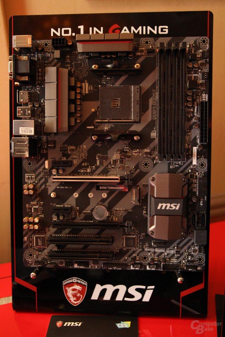 MSI zeigt erste X370-Platine für AMD Ryzen