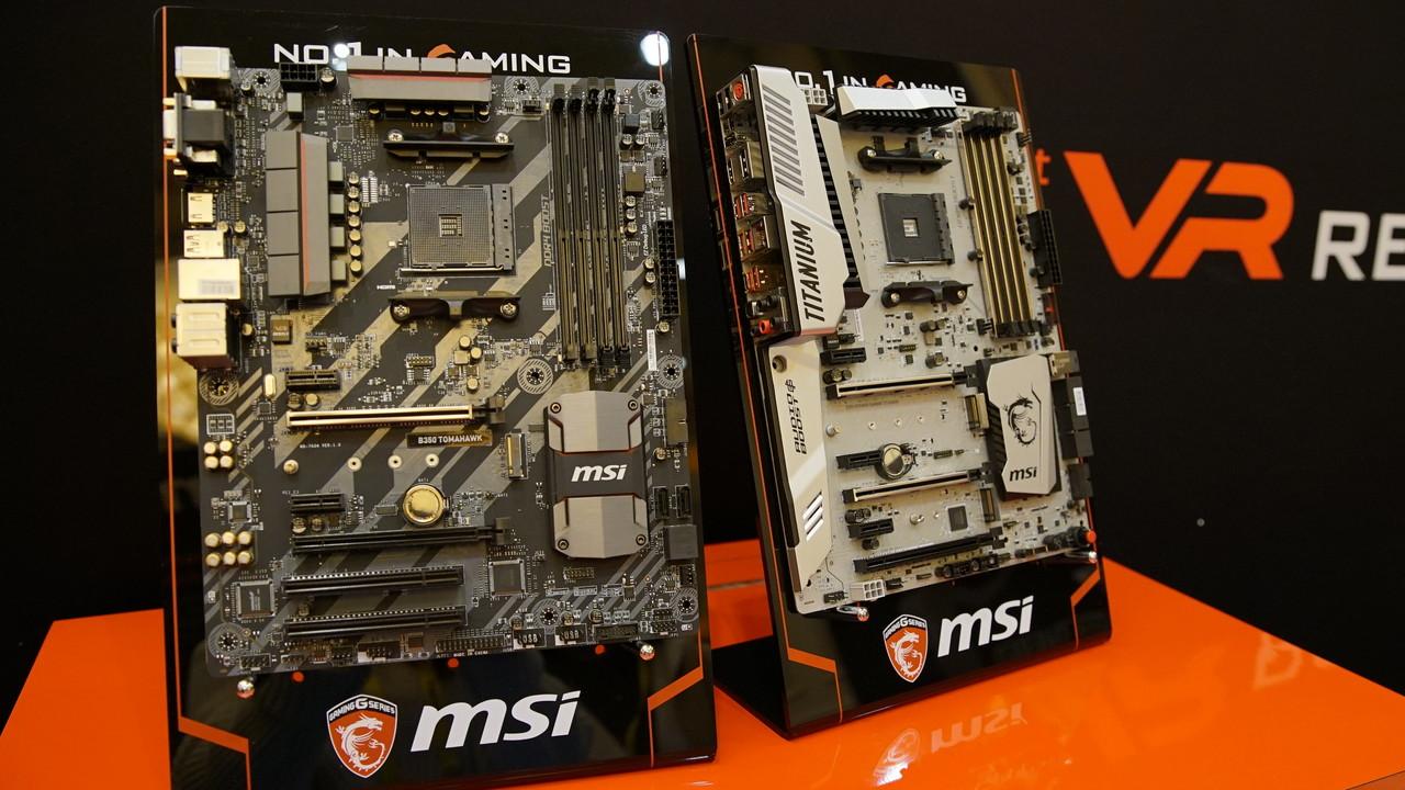 Ryzen-Mainboards: X370-Platinen von ASRock, Gigabyte und MSI