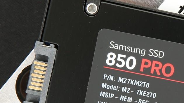 Samsung 850 Pro: 4-TB-SSD wegen NAND-Flash-Engpass weiter verschoben