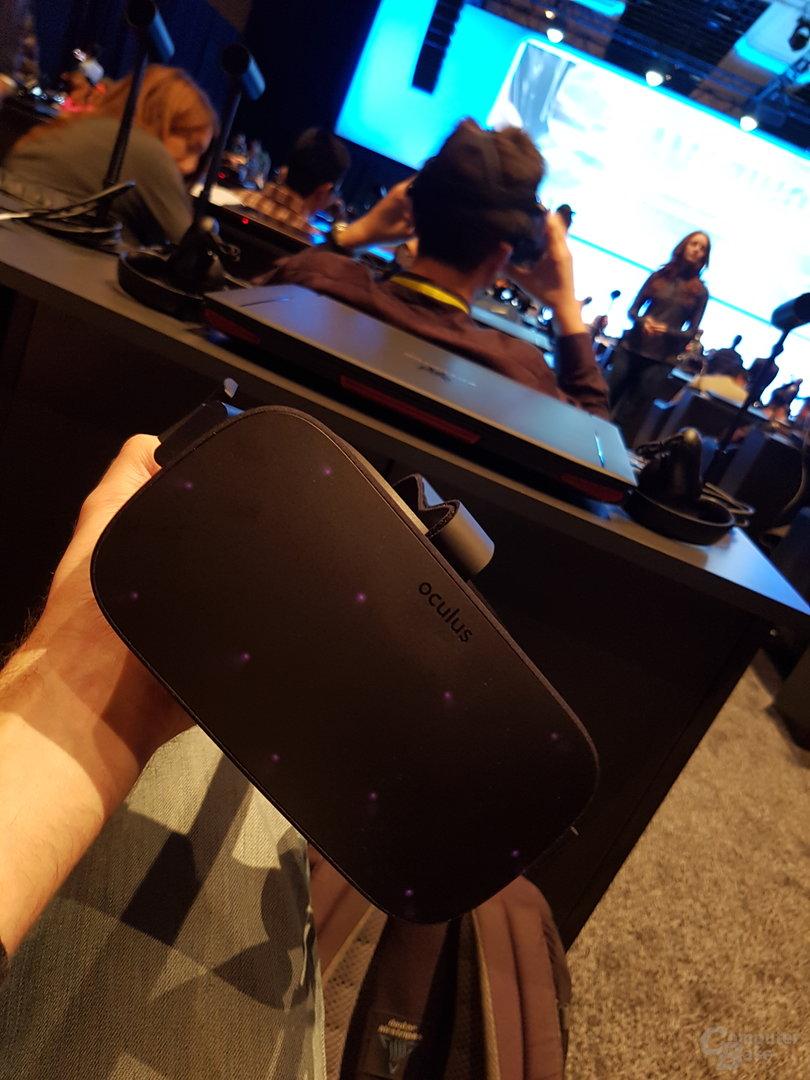Die ComputerBase-VR-Brille zur PK