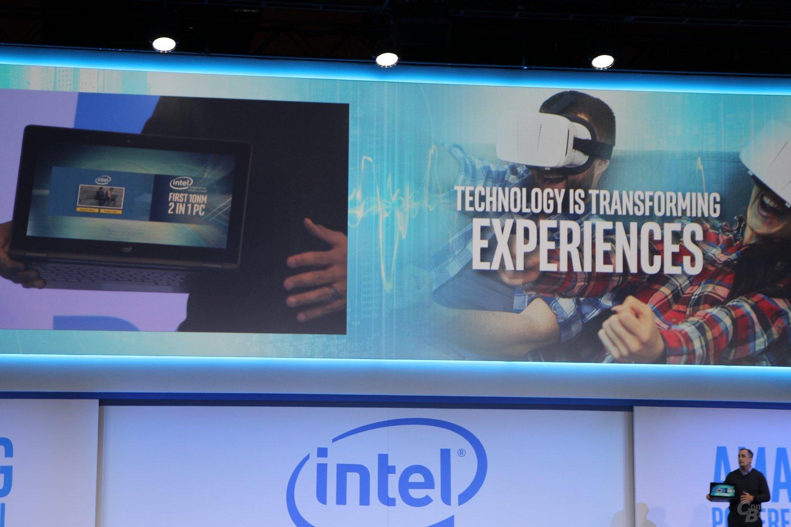 Cannon Lake: Intel zeigt erstmals lauffähige 10-nm-CPU im Notebook
