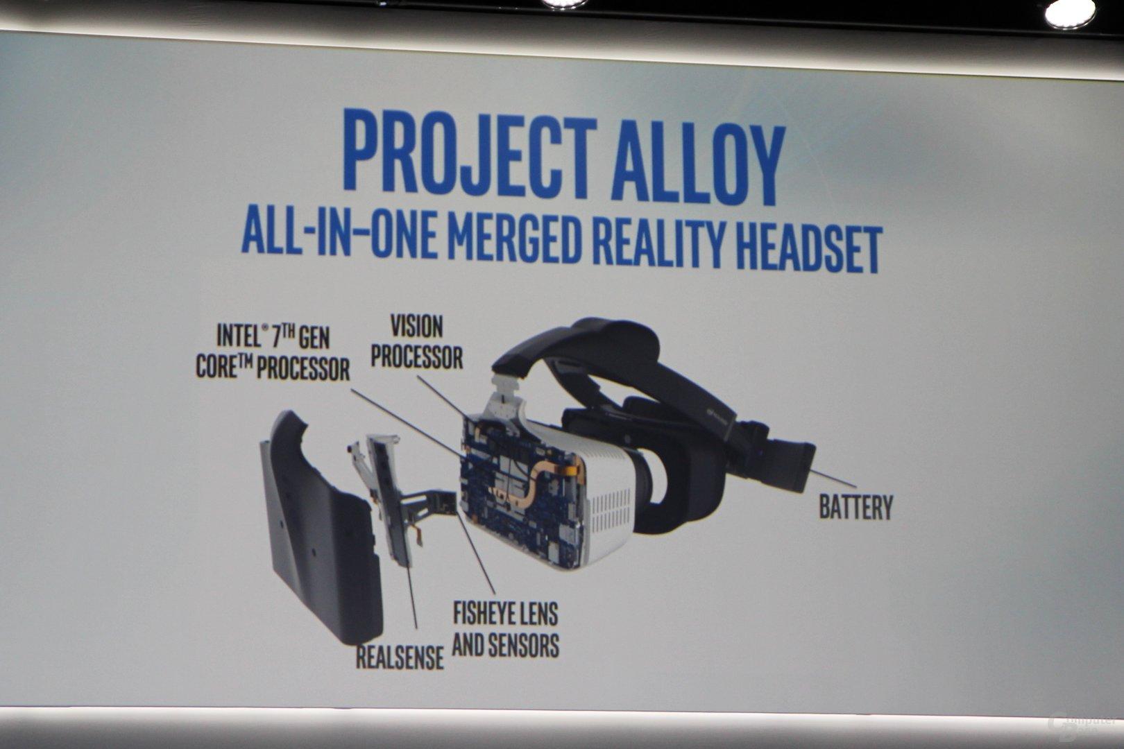 Intels Project Alloy mit aktualisierter Hardware
