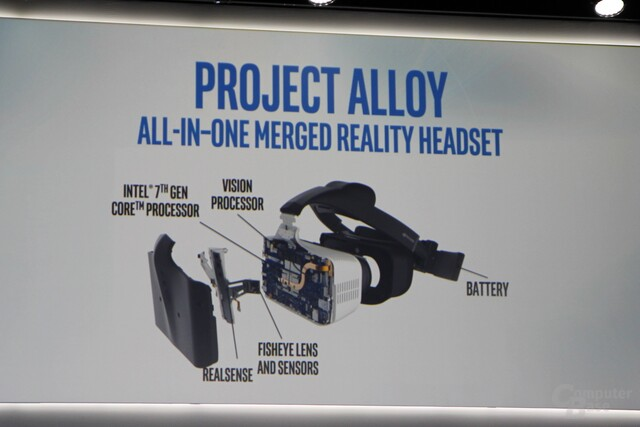 Intels Project Alloy mit aktualisierter Hardware