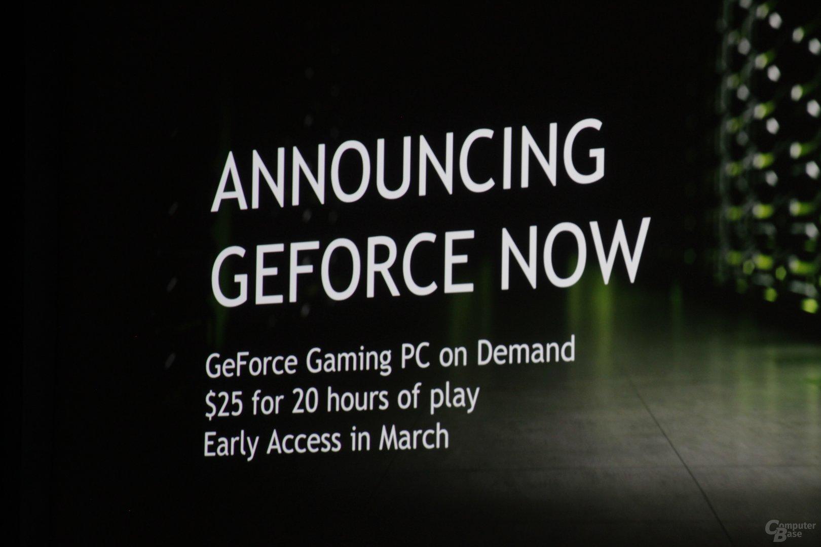 Nvidia GeForce Now für PC