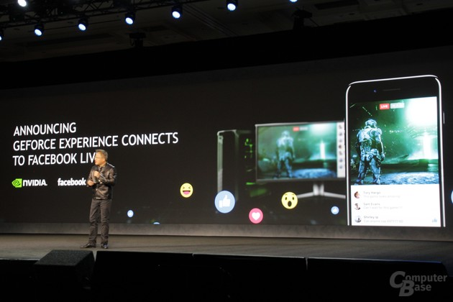 Nvidia GeForce Experience für Facebook Live
