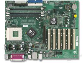 nForce 2 Ultra 400Gb Referenzplatine