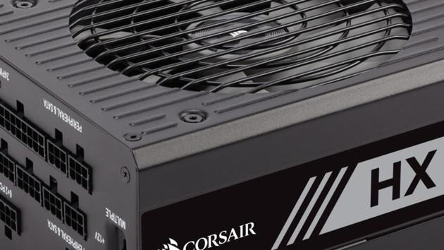 Corsair HX- und TX-M-Serie: Günstigere 80-Plus-Platinum- und bessere Gold-Netzteile