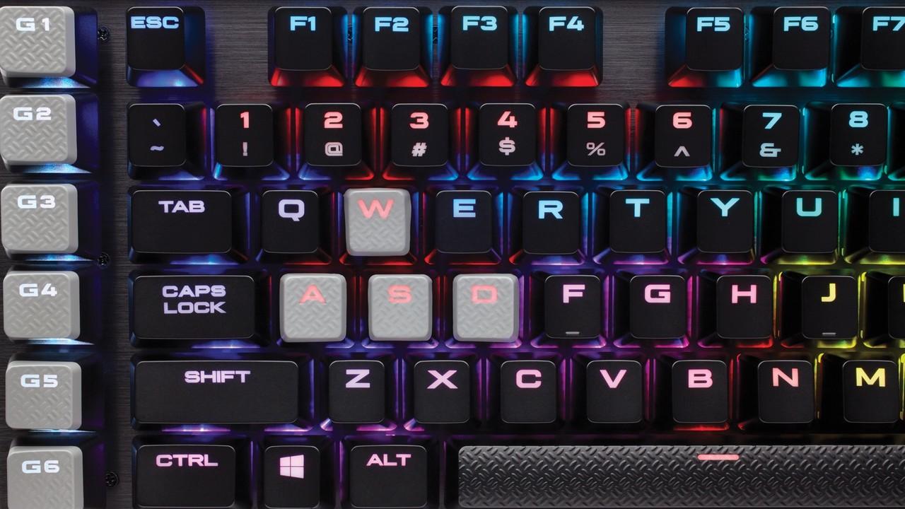 K95 RGB Platinum: Corsair überarbeitet Tastatur-Flaggschiff