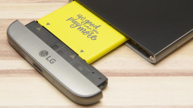 G5: LG gibt modulare Smartphones auf