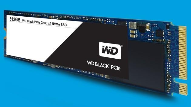 WD Black PCIe: Western Digitals NVMe-SSD startet bei 43 Cent pro GByte