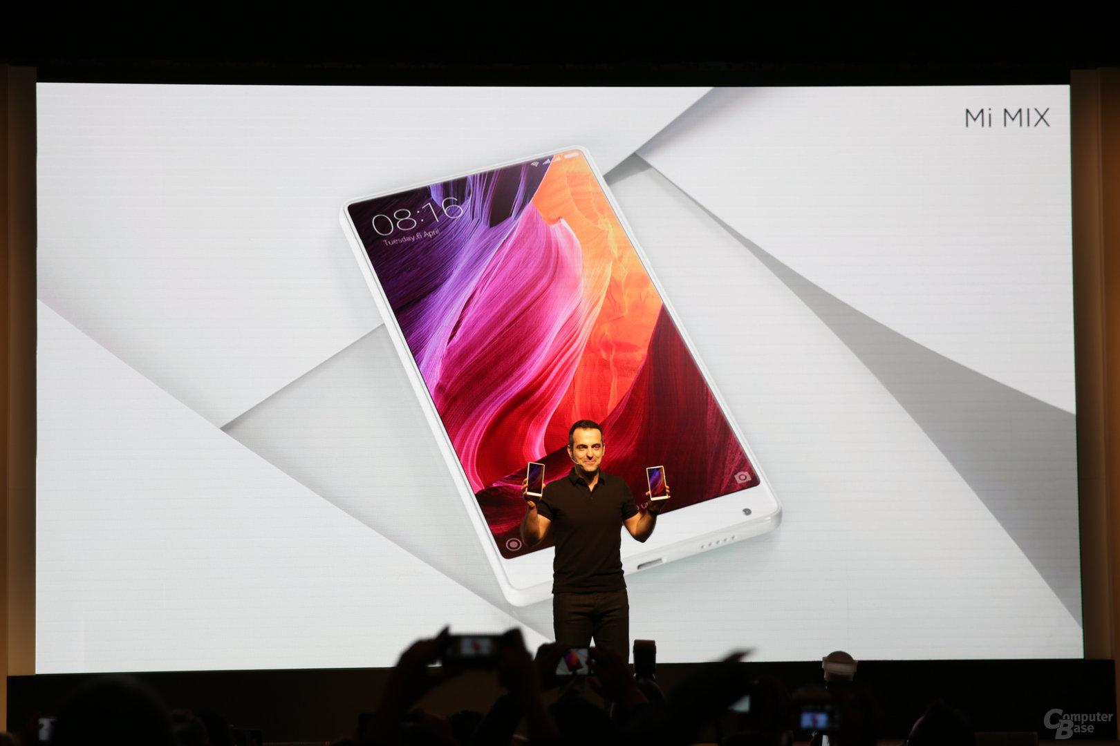 Das Xiaomi Mi Mix kommt in Weiß