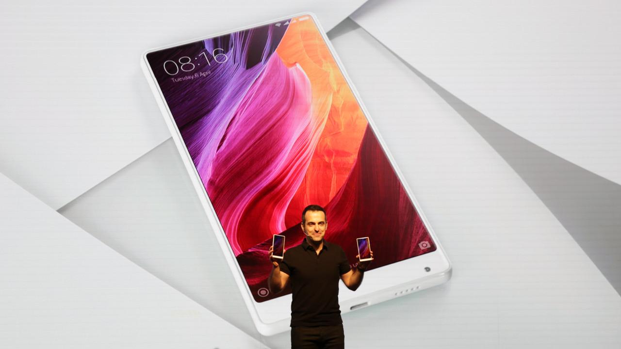 Xiaomi Mi Mix: Rahmenloses Smartphone ab sofort auch in Weiß