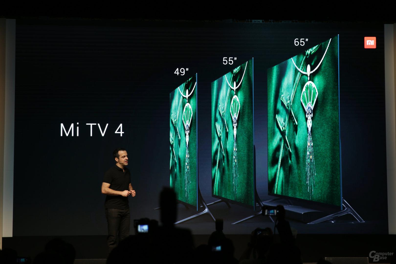 mi tv 4 neuer xiaomi fernseher ist unter 5 millimeter d nn computerbase. Black Bedroom Furniture Sets. Home Design Ideas