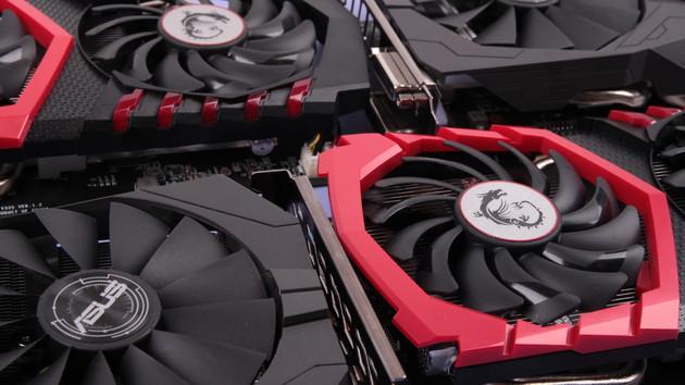 Asus Strix und MSI Gaming im Test: Vier sehr leise GeForce GTX 1050 (Ti) mit mehr Leistung