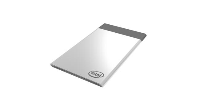 Intels Compute Card ist etwas größer als eine Kreditkarte