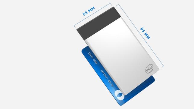 Intel Compute Card: PC fast im Kreditkarten-Format mit USB Typ C