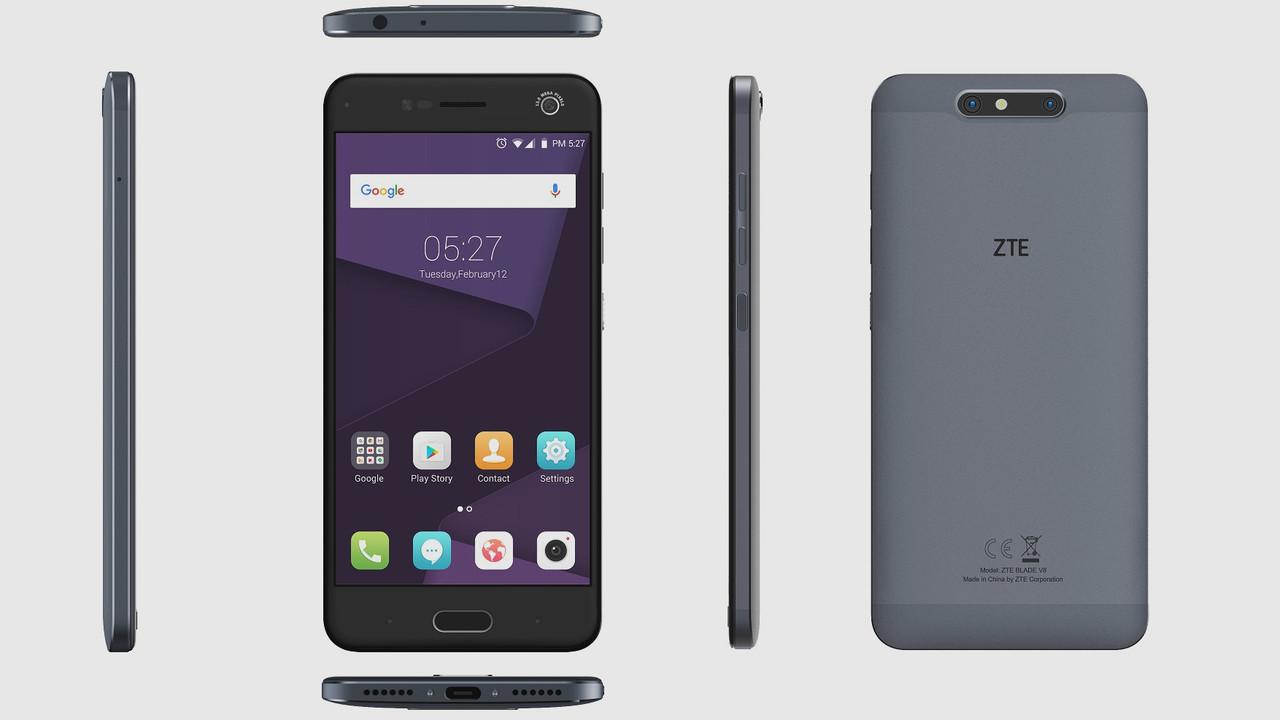 ZTE Blade V8 (Pro): Zwei Mittelklasse-Smartphones mit Dual-Kamera