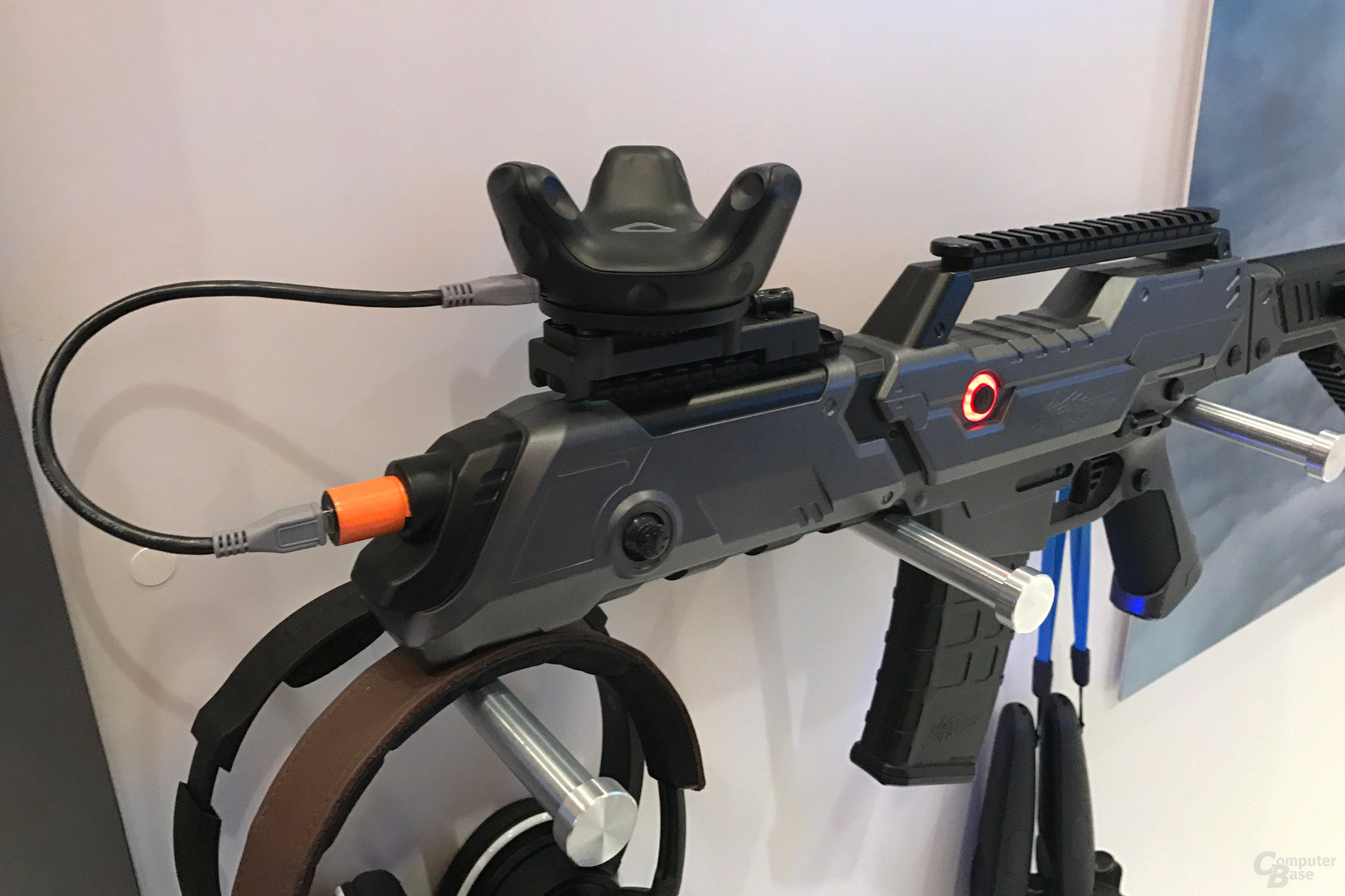 Vive Tracker auf Sturmgewehr