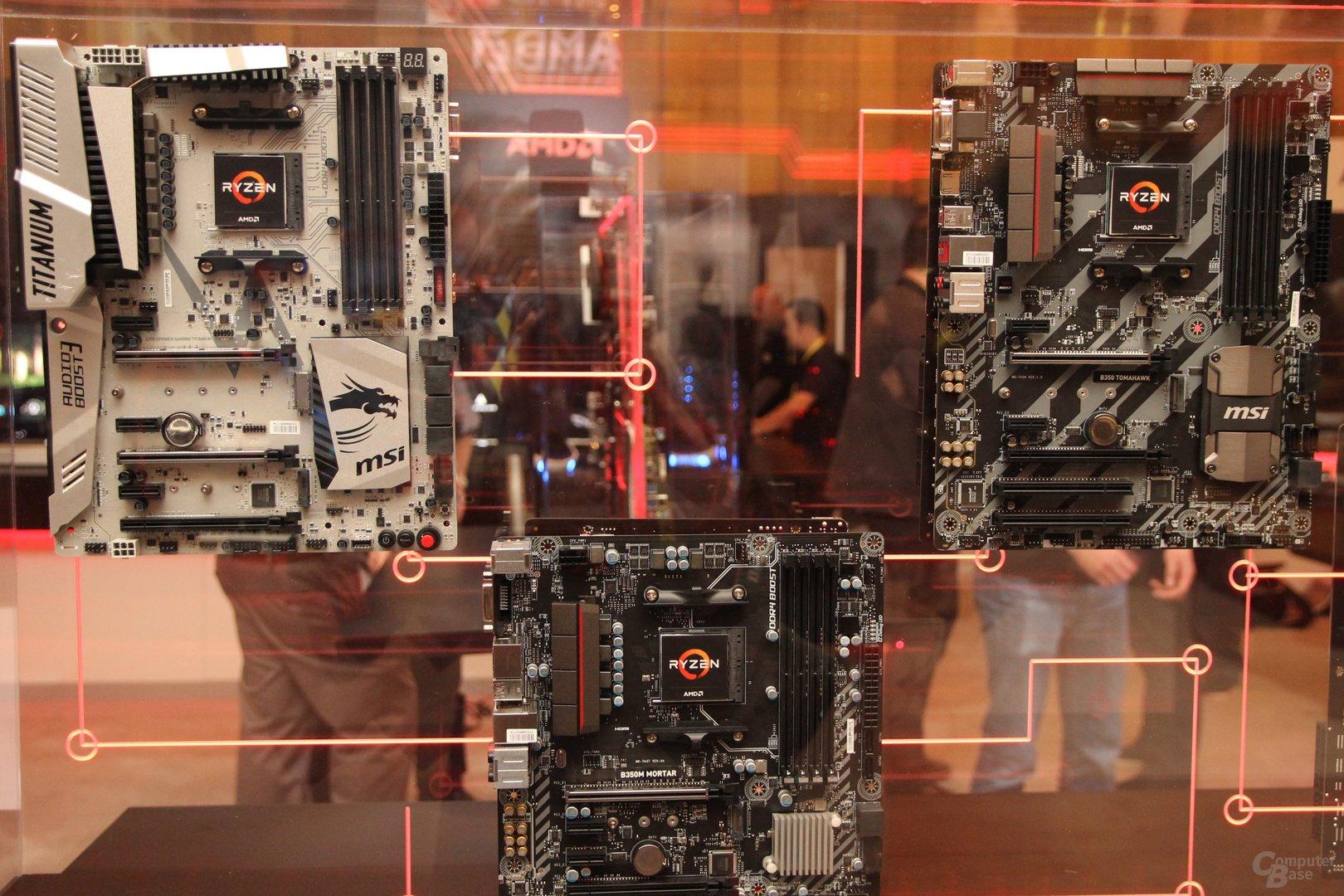 AMD-Mainboards für Sockel AM4