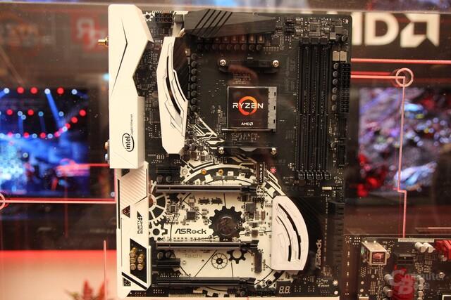 AMD-Mainboards für Sockel AM4 mit acht SATA und zwei M.2