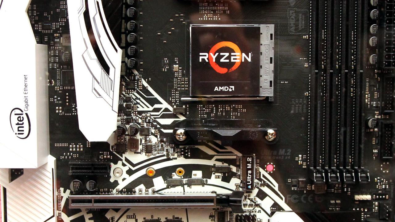 AMD: Von fingernagelgroßen Chipsätzen und kleinen Ryzen