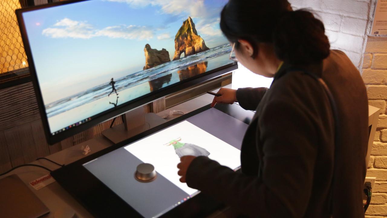 Dell Canvas ausprobiert: Kreative 27-Zoll-Spielwiese für Finger, Stylus und Totem