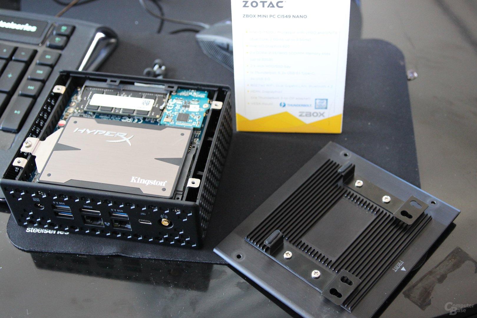 Die aktualisierten Zboxen von Zotac zur CES 2017