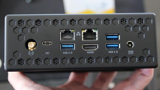 Zotac Zbox Nano CI549: Passiv gekühlt mit flotteren CPUs und mehr Anschlüssen