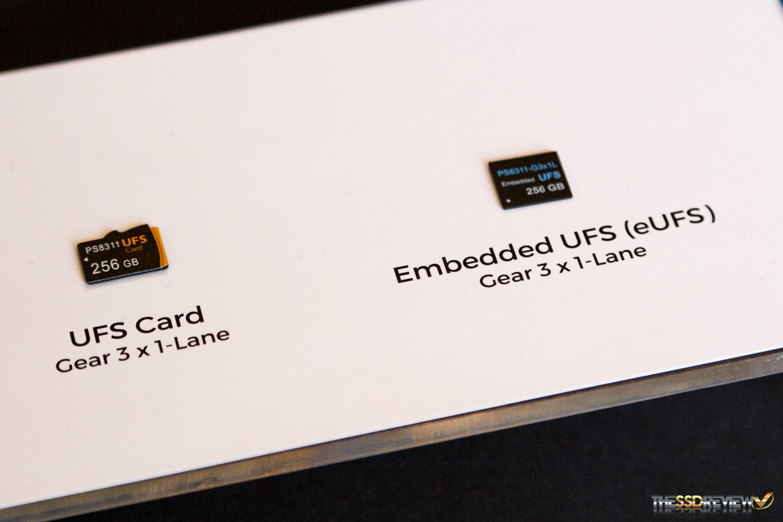 UFS-Speicherkarten mit PS8311