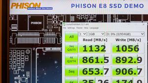 Phison E8: Erste Benchmarks zum neuen NVMe-Einsteiger-Controller
