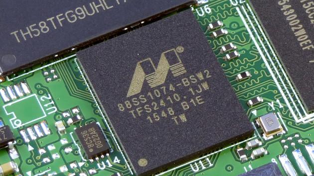 88SS1079: Marvell hat SSD-Controller 88SS1074 überarbeitet