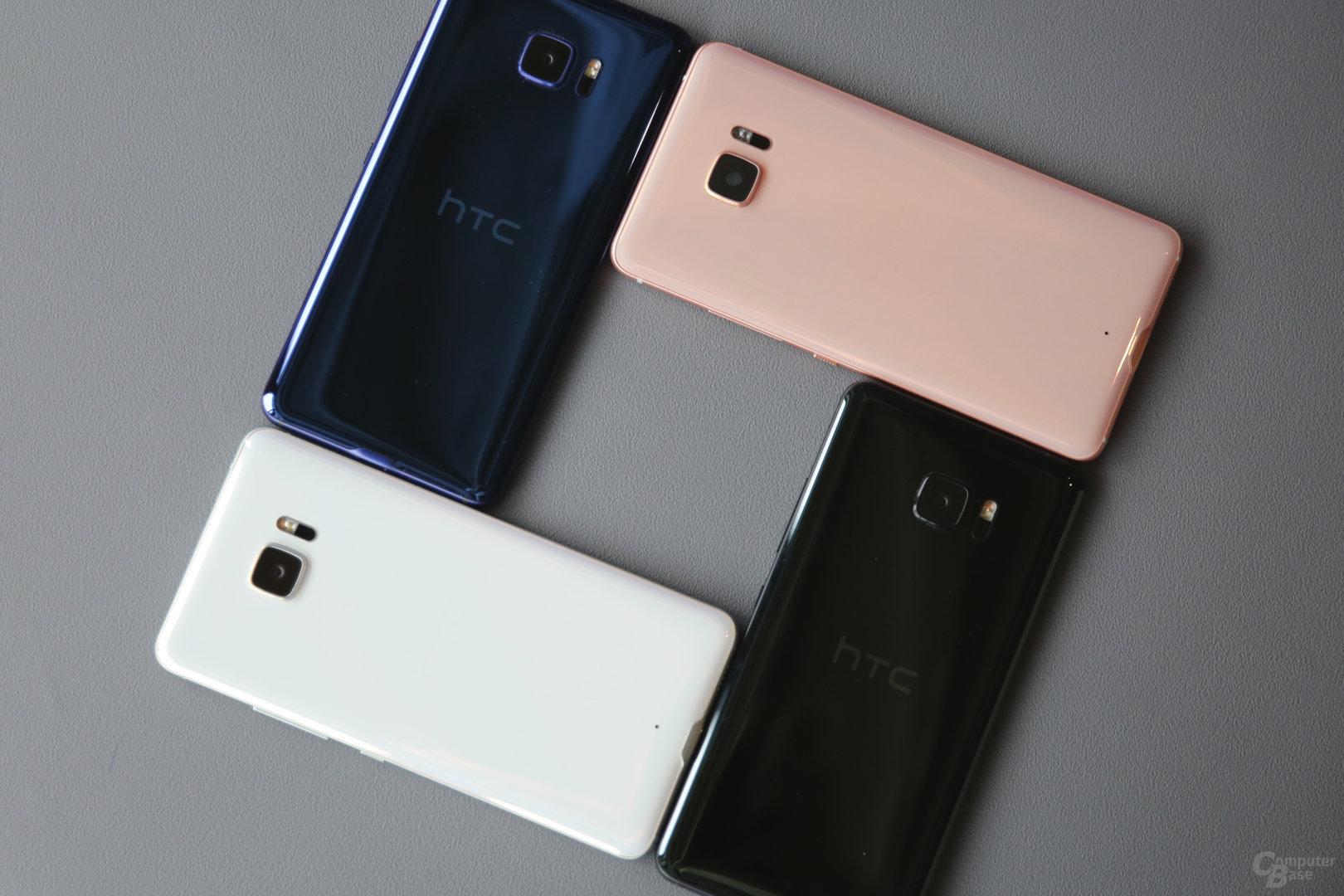 Die vier Farben der U-Serie