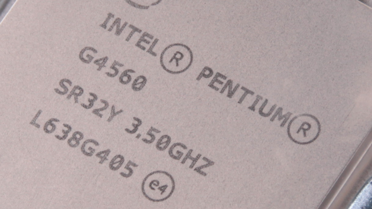 Intel Pentium G4560 im Test: Mit bis zu 97 Prozent mehr Leistung zum Core-i3-Killer