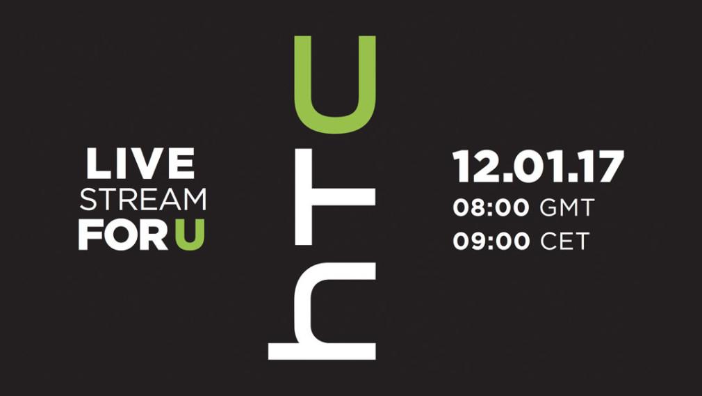 HTC U: Livestream startet in 60Minuten