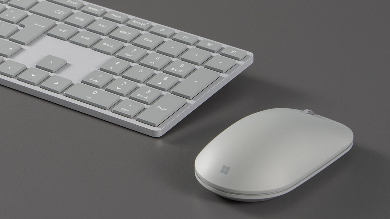 Microsoft: Surface Tastatur und Maus ab 16.Januar im Handel