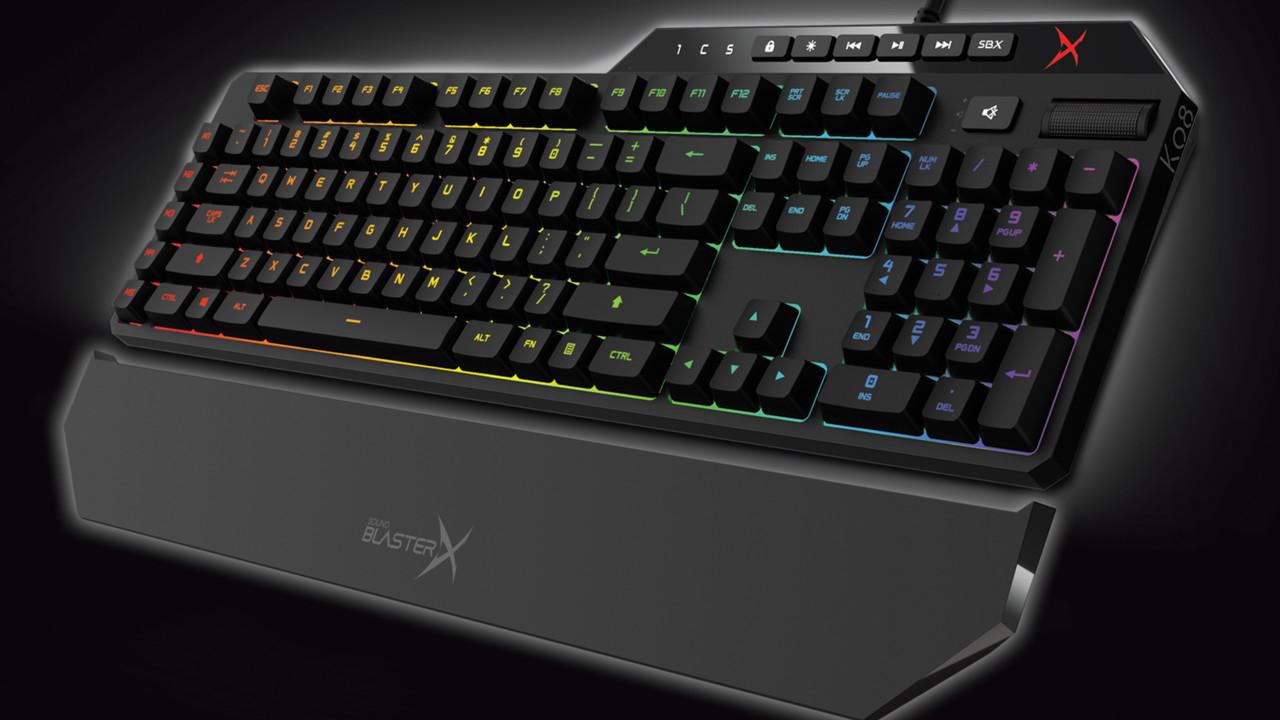 Creative Sound BlasterX: Maus und Tastatur tragen Audio-Bezeichnung