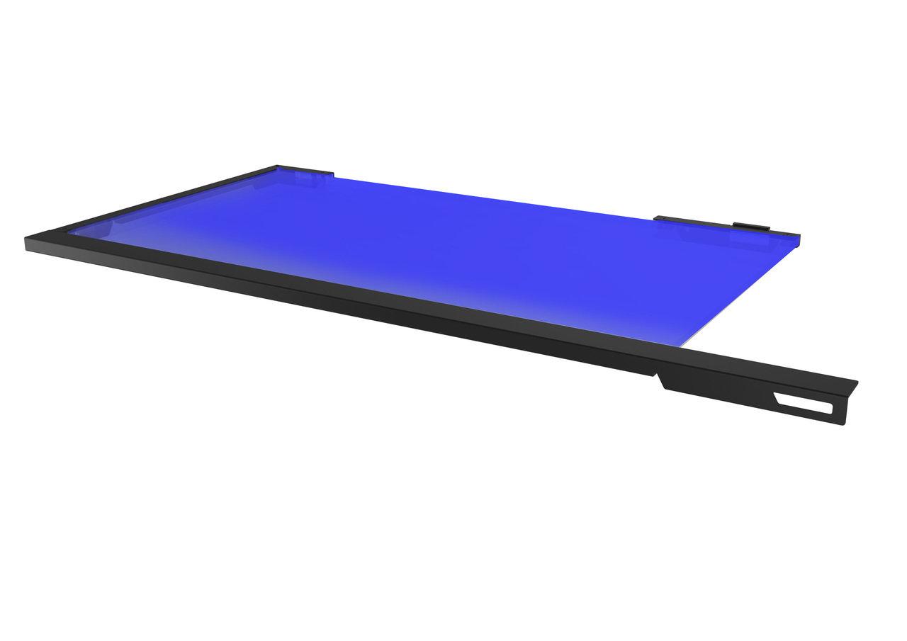 LED Trennplatte für das MasterCase Pro 3 (blau)