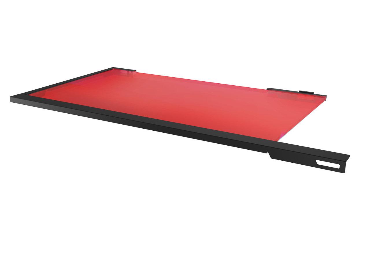 LED Trennplatte für das MasterCase Pro 3 (rot)