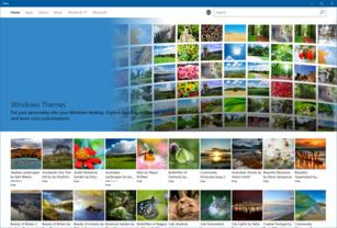 Windows Store mit Themes für Windows 10