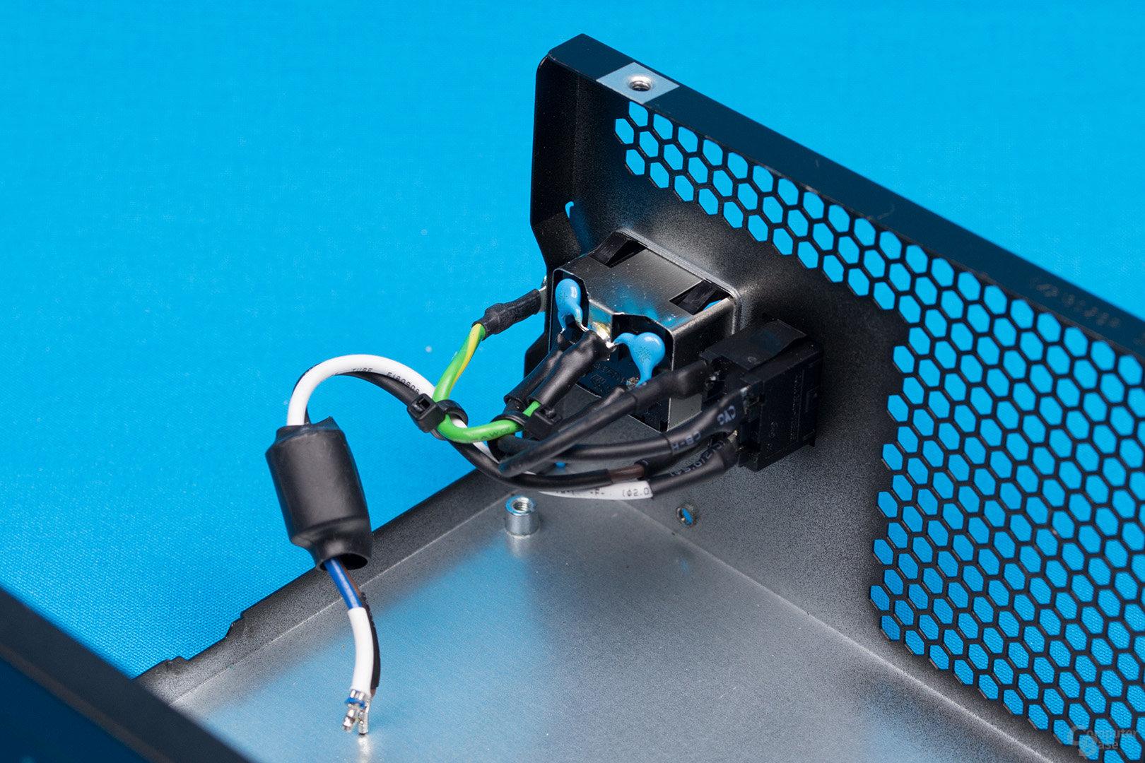be quiet! Pure Power 10 500W CM – Kaltgerätebuchse