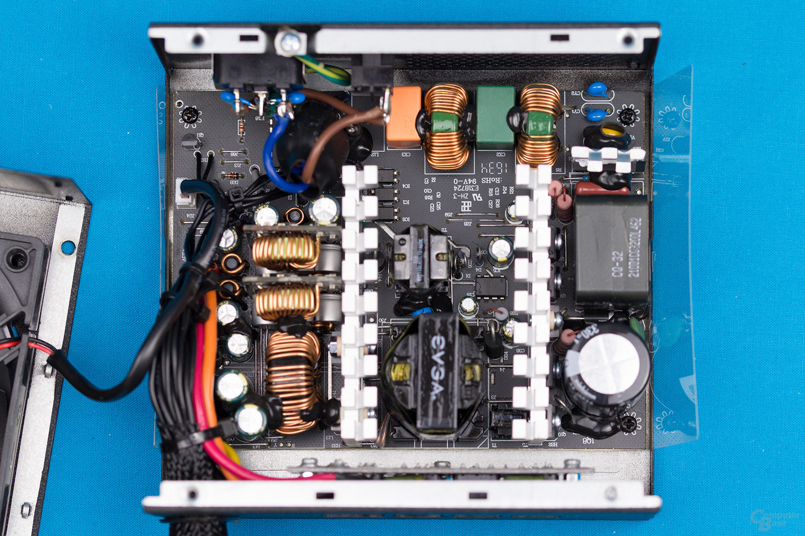EVGA 500 BQ – Überblick Elektronik