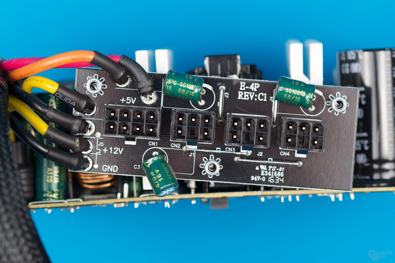 EVGA 500 BQ – Anschlussplatine