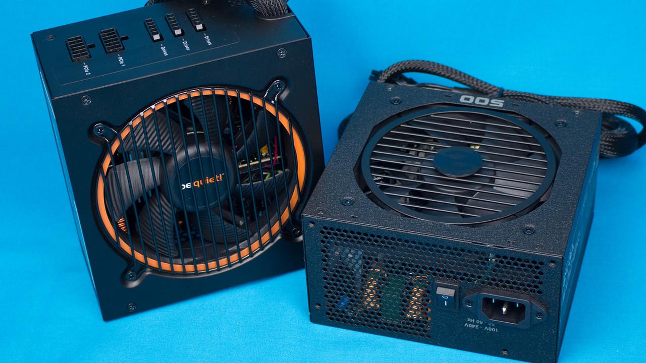 Pure Power 10 CM und BQ im Test: Mittelklasse-Referenz von be quiet! und EVGA