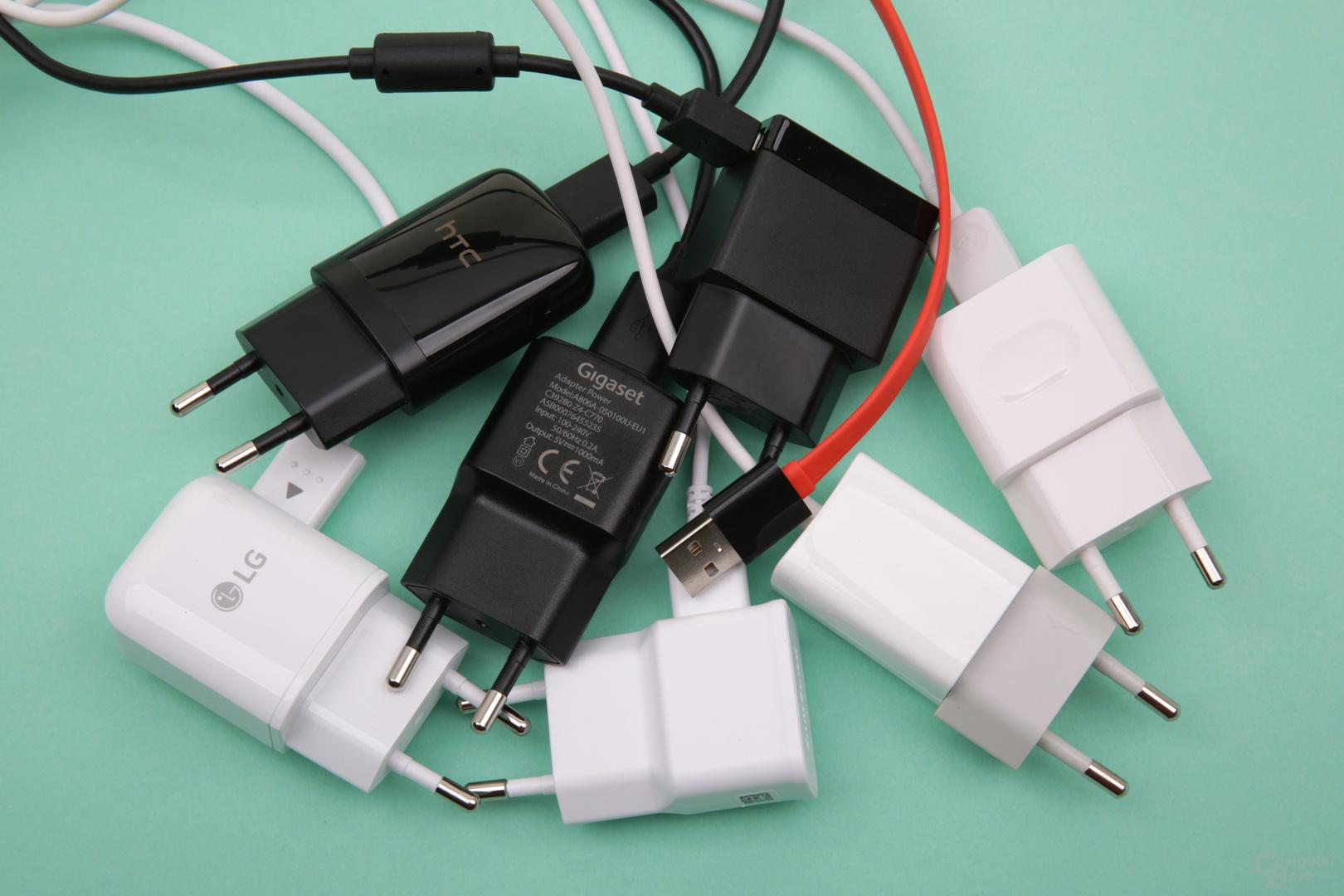 Bei Netzteilen wird häufig gespart, Wileyfox verzichtet komplett darauf
