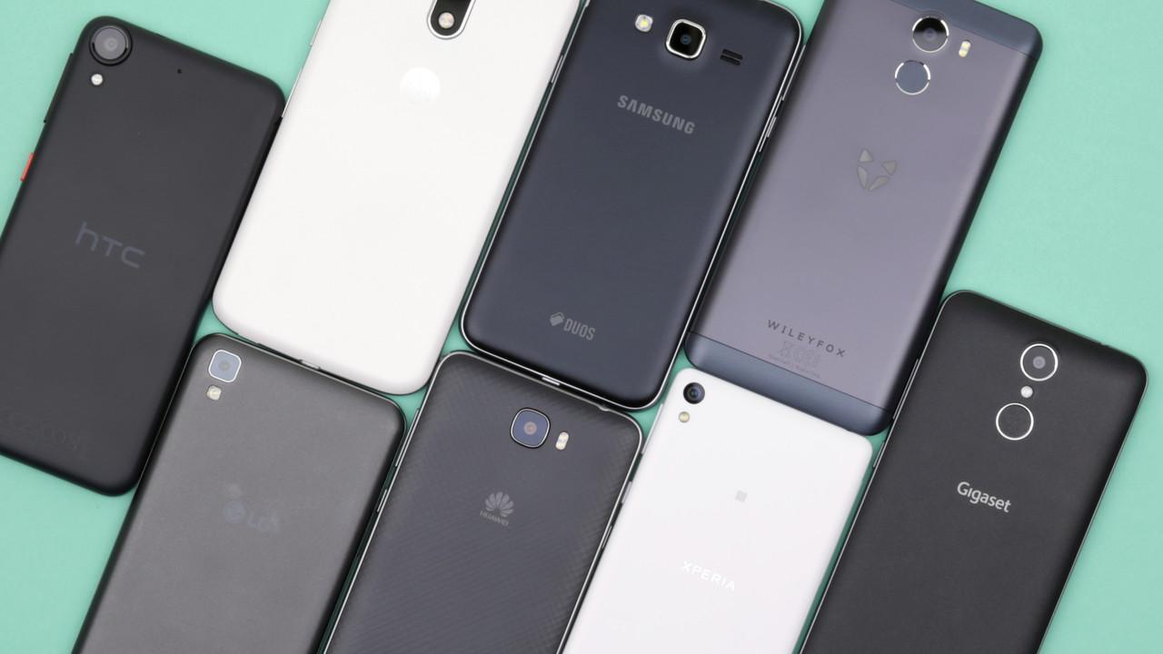 Smartphones bis 200 euro acht einsteiger handys im test for Wohnwand bis 200 euro