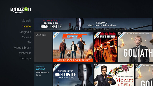 Amazon Video App mit Ultra HD und HDR