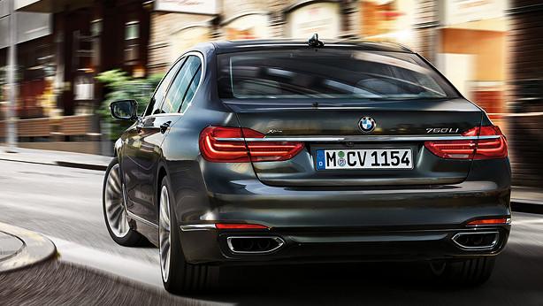 BMW: Die 7er-Reihe wechselt ab März selbst die Spur