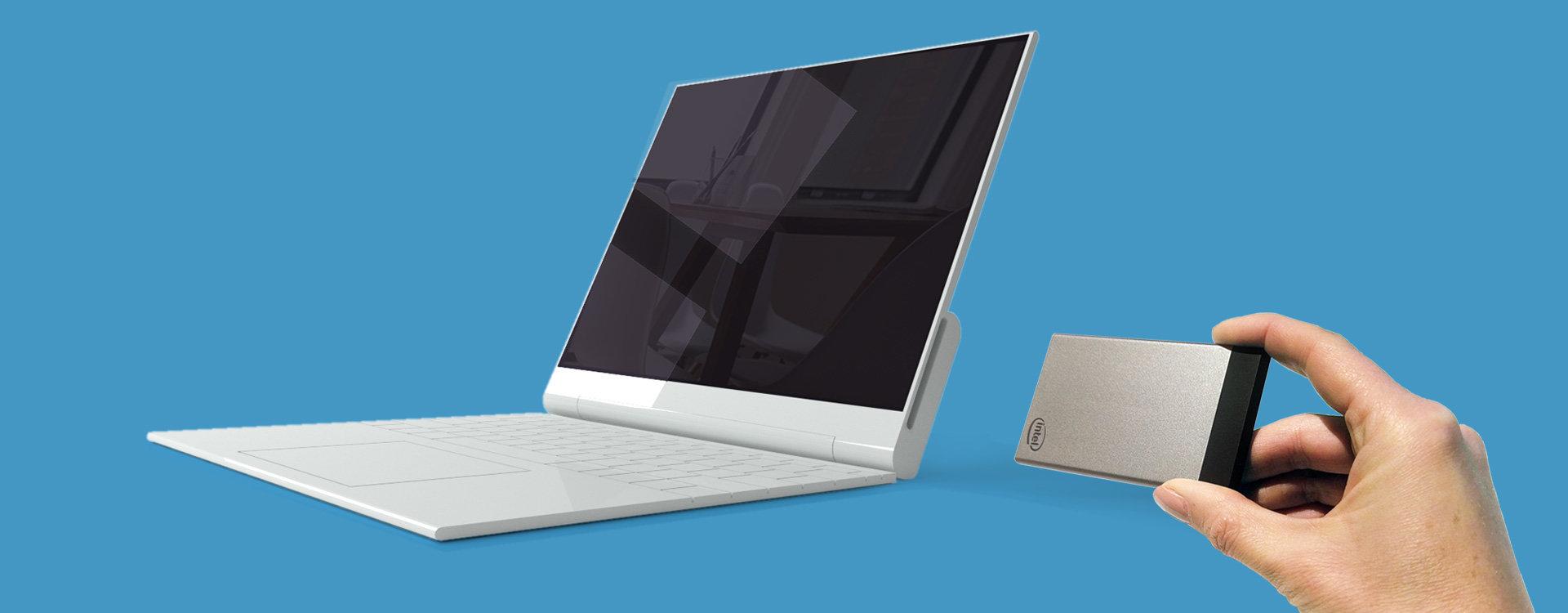 Das nächste NexDock für Intel Compute Card
