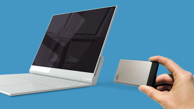 NexDock: Erstes Notebook-Dock für Intels Compute Card