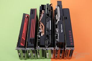 AMD-Grafikkarten seit 2009 im Test